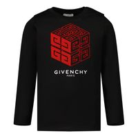 Picture of Givenchy H05183 baby shirt black
