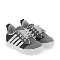 Picture of Dsquared2 65022 kids sneakers grey