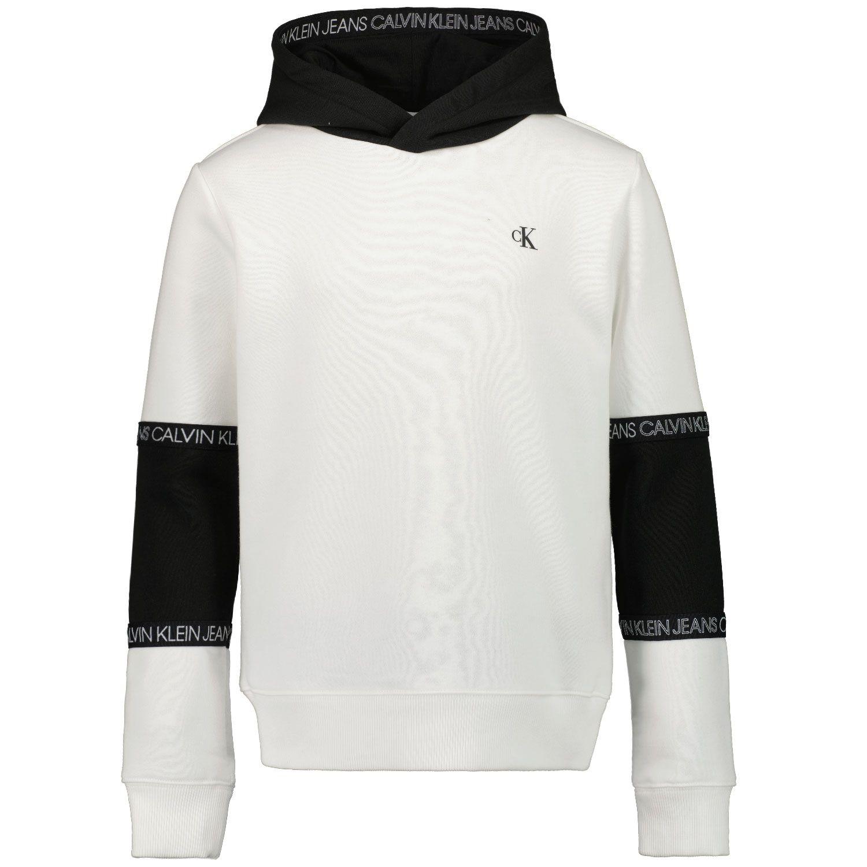 Picture of Calvin Klein IB0IB00688 kids sweater white