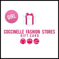 Bild von Coccinelle Geschenkkarte 100EUR giftwrap girl