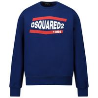Picture of Dsquared2 DQ0208 kids sweater blue