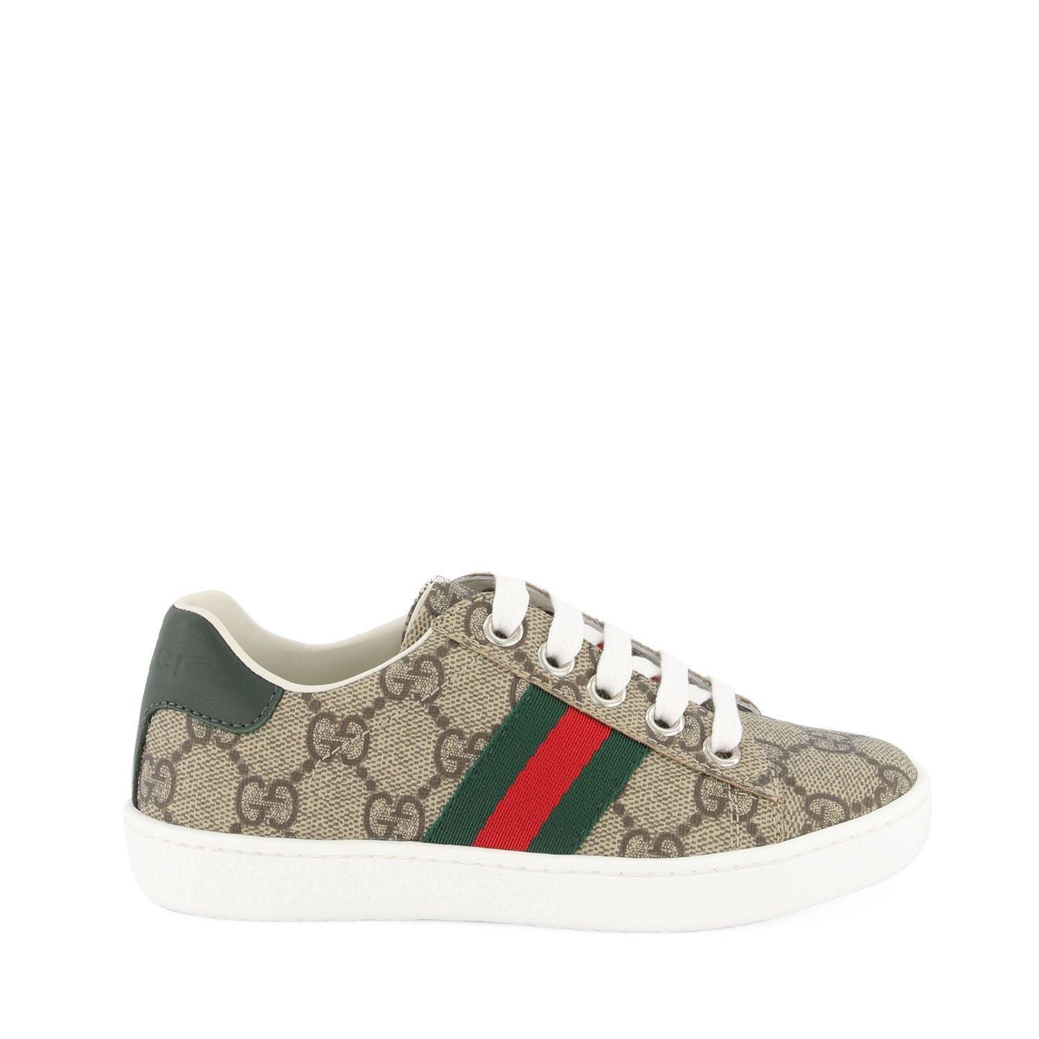 Picture of Gucci 433149 kids sneakers beige
