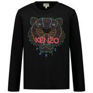 Afbeelding van Kenzo KR10738 kinder t-shirt zwart