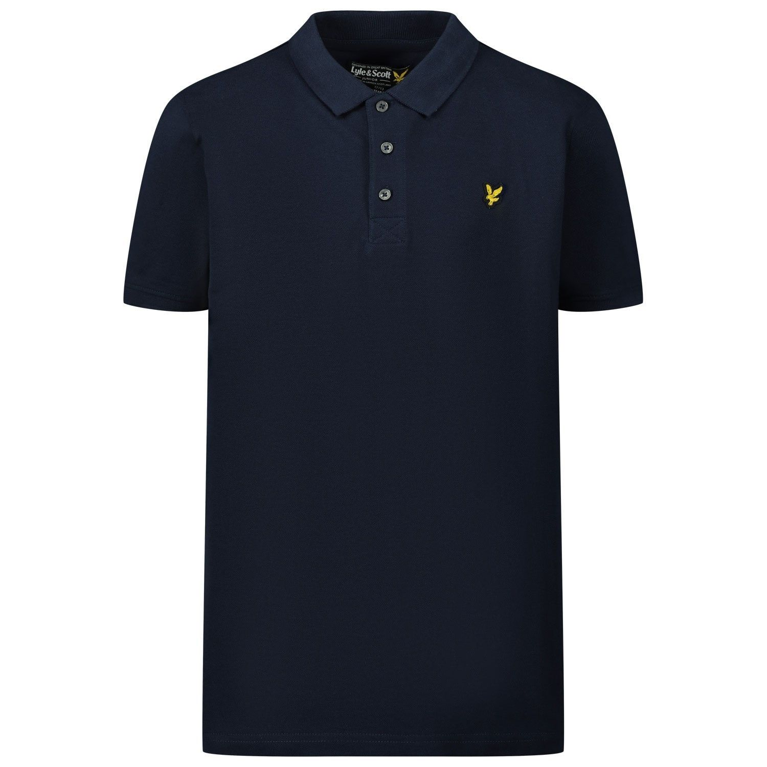 Picture of Lyle & Scott LSC0145S kids polo shirt navy