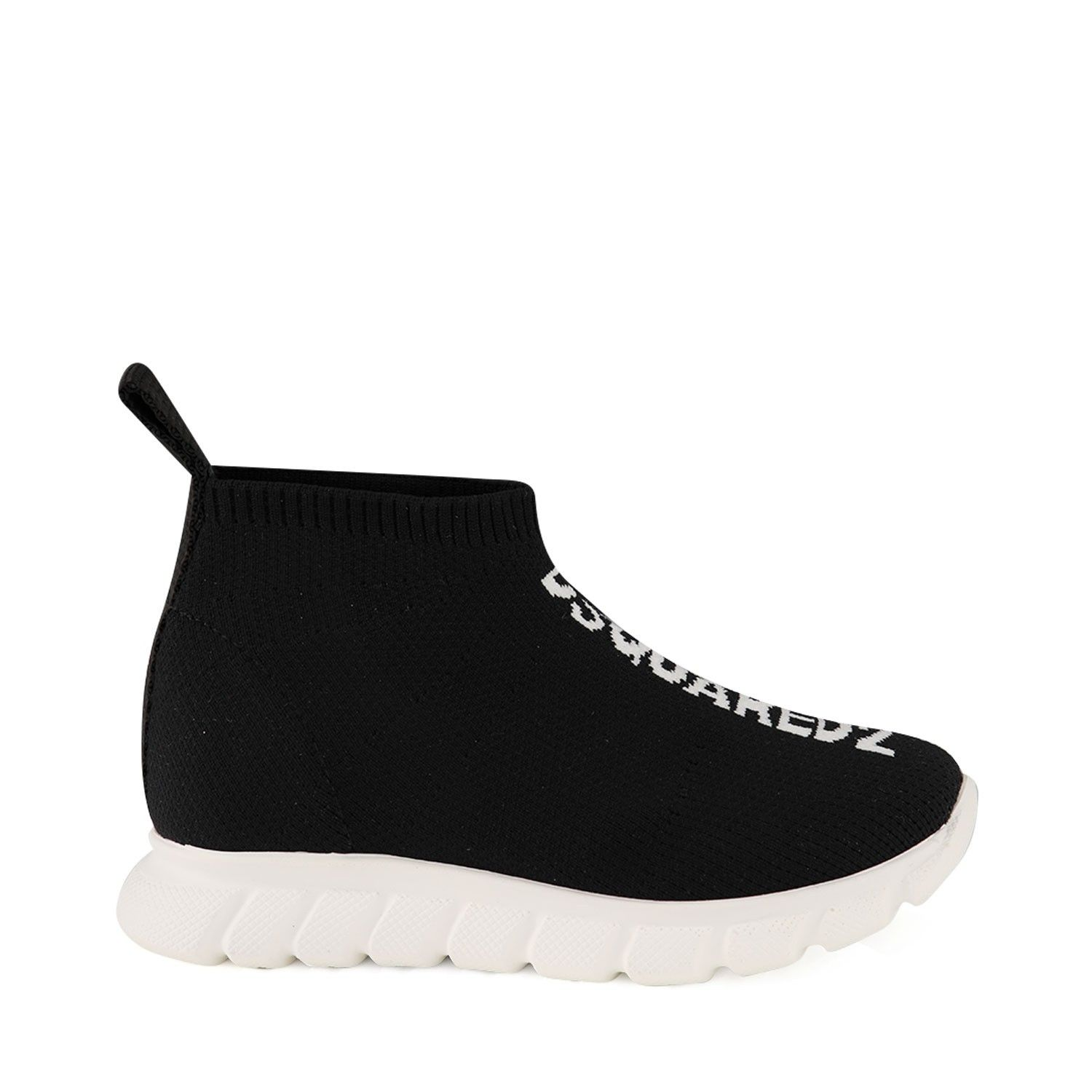 Picture of Dsquared2 63516 kids sneakers black