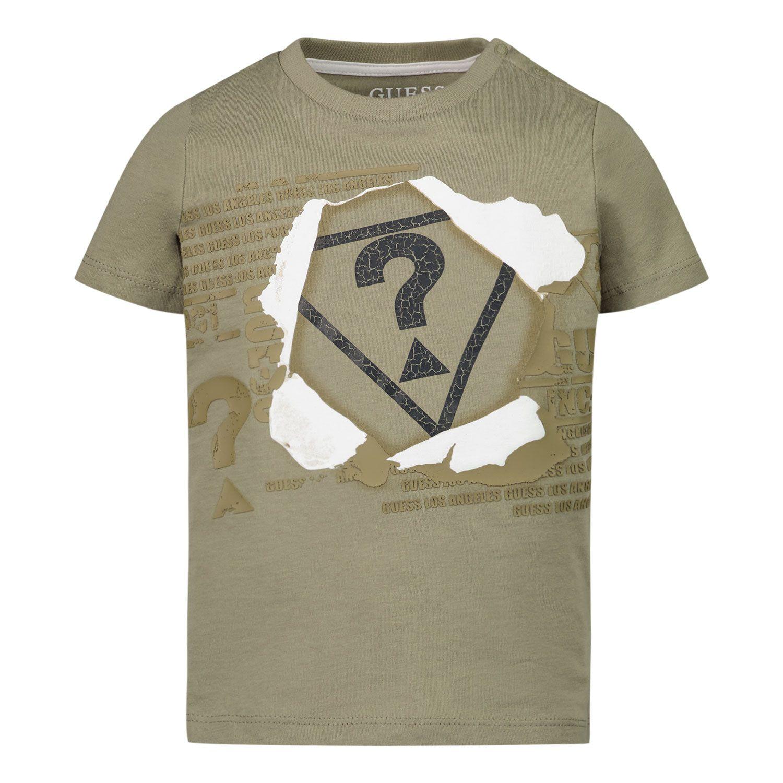 Bild von Guess N1RI09 Baby-T-Shirt Camouflage