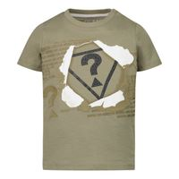Picture of Guess N1RI09 baby shirt army