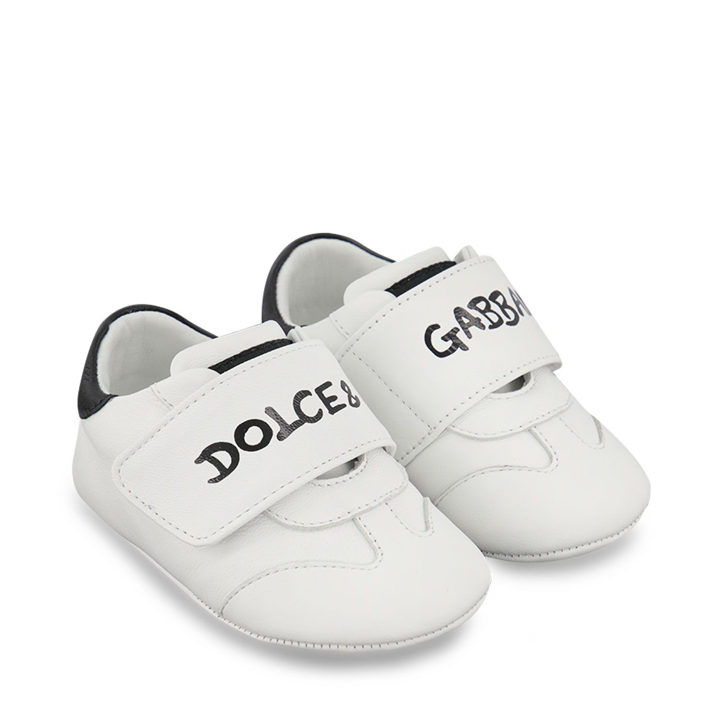 Picture of Dolce & Gabbana DK0109 baby shoes white