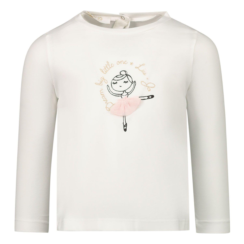 Afbeelding van Liu Jo HF0013 baby t-shirt off white