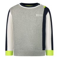 Picture of Boss J05812 baby sweater grey