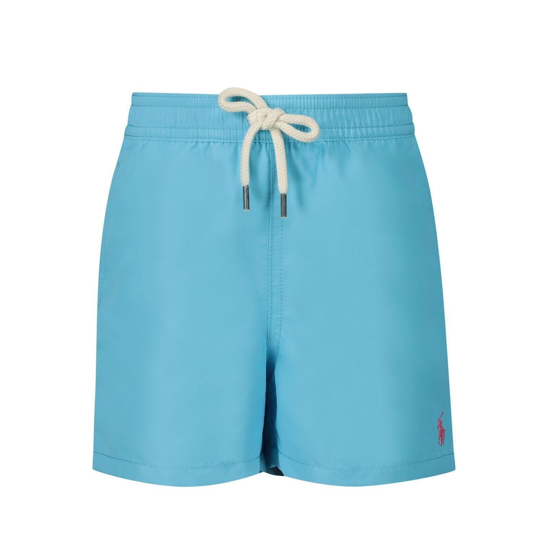 Afbeelding van Ralph Lauren 320785582 baby badkleding turquoise