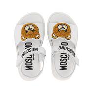 Afbeelding van Moschino 67373 kindersandalen wit