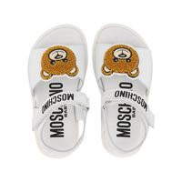 Picture of Moschino 67373 kids sandals white