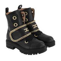 Picture of Elisabetta Franchi 66784 kids shoes black