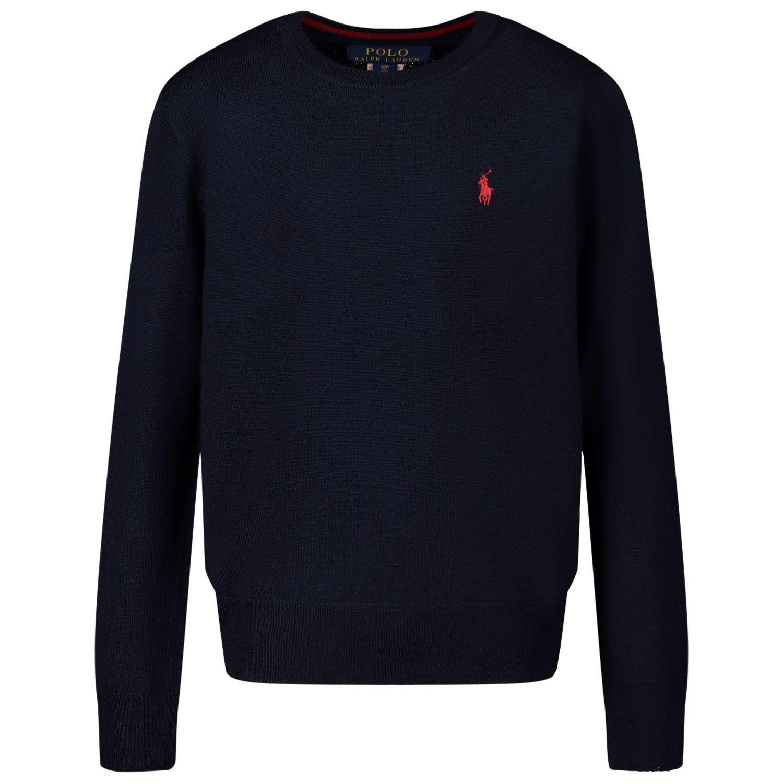 Picture of Ralph Lauren 749887 kids sweater navy
