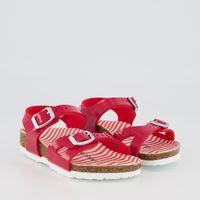 Picture of Birkenstock 1012720 kids sandals red