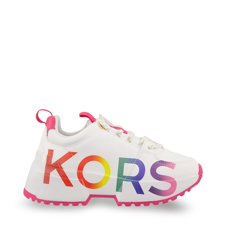 Afbeelding van Michael Kors MK100001 kindersneakers wit