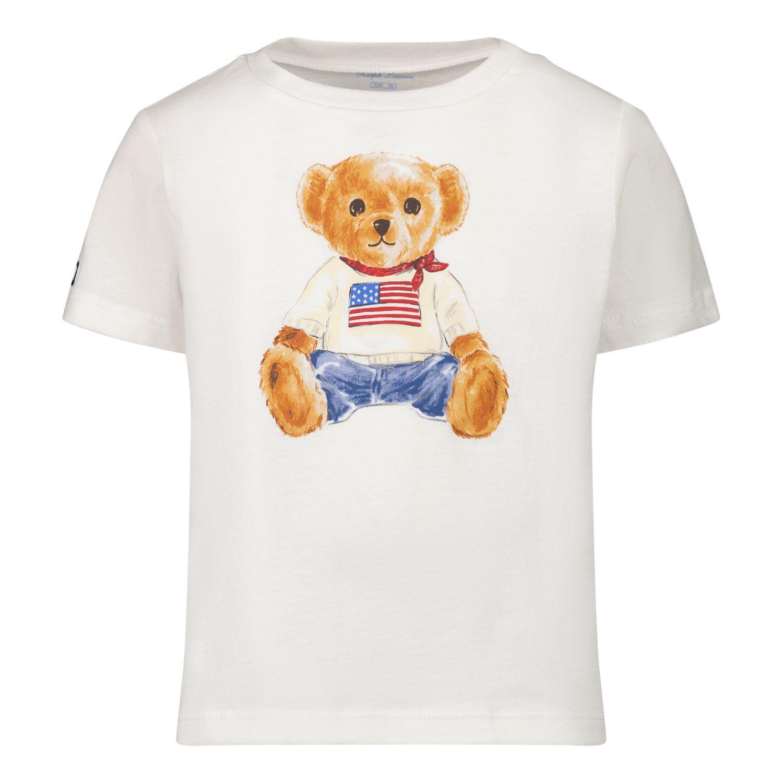 Picture of Ralph Lauren 320746618 baby shirt white