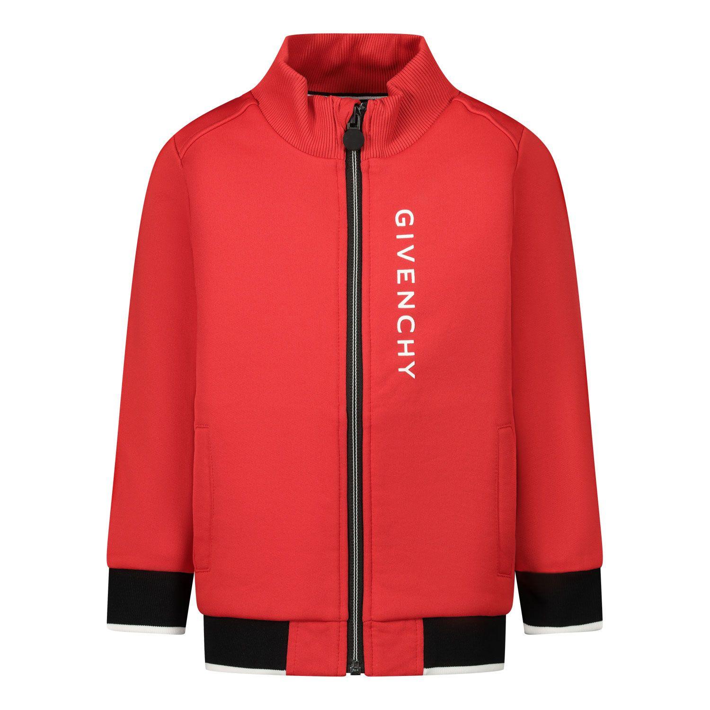 Afbeelding van Givenchy H05132 baby vest rood