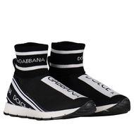 Afbeelding van Dolce & Gabbana DA0720 kindersneakers zwart
