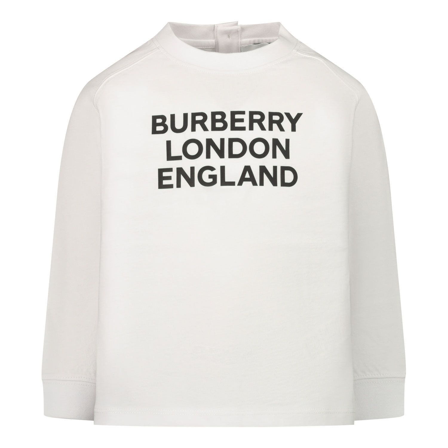 Picture of Burberry 8031669 baby shirt white