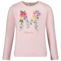 Picture of MonnaLisa 117604SF kids t-shirt light pink