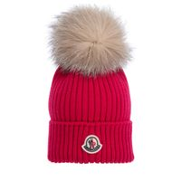 Picture of Moncler 3B71110 kids hat fuchsia