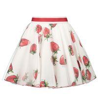 Picture of MonnaLisa 117707 kids skirt white
