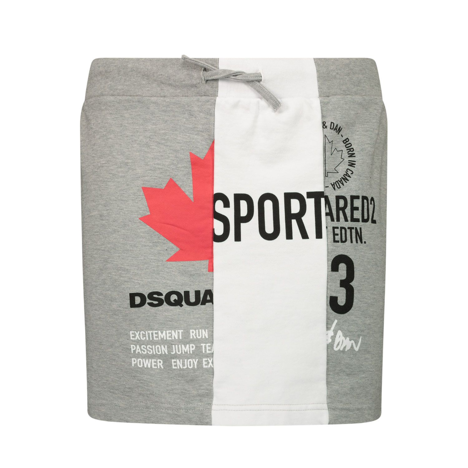Picture of Dsquared2 DQ0027 kids skirt grey