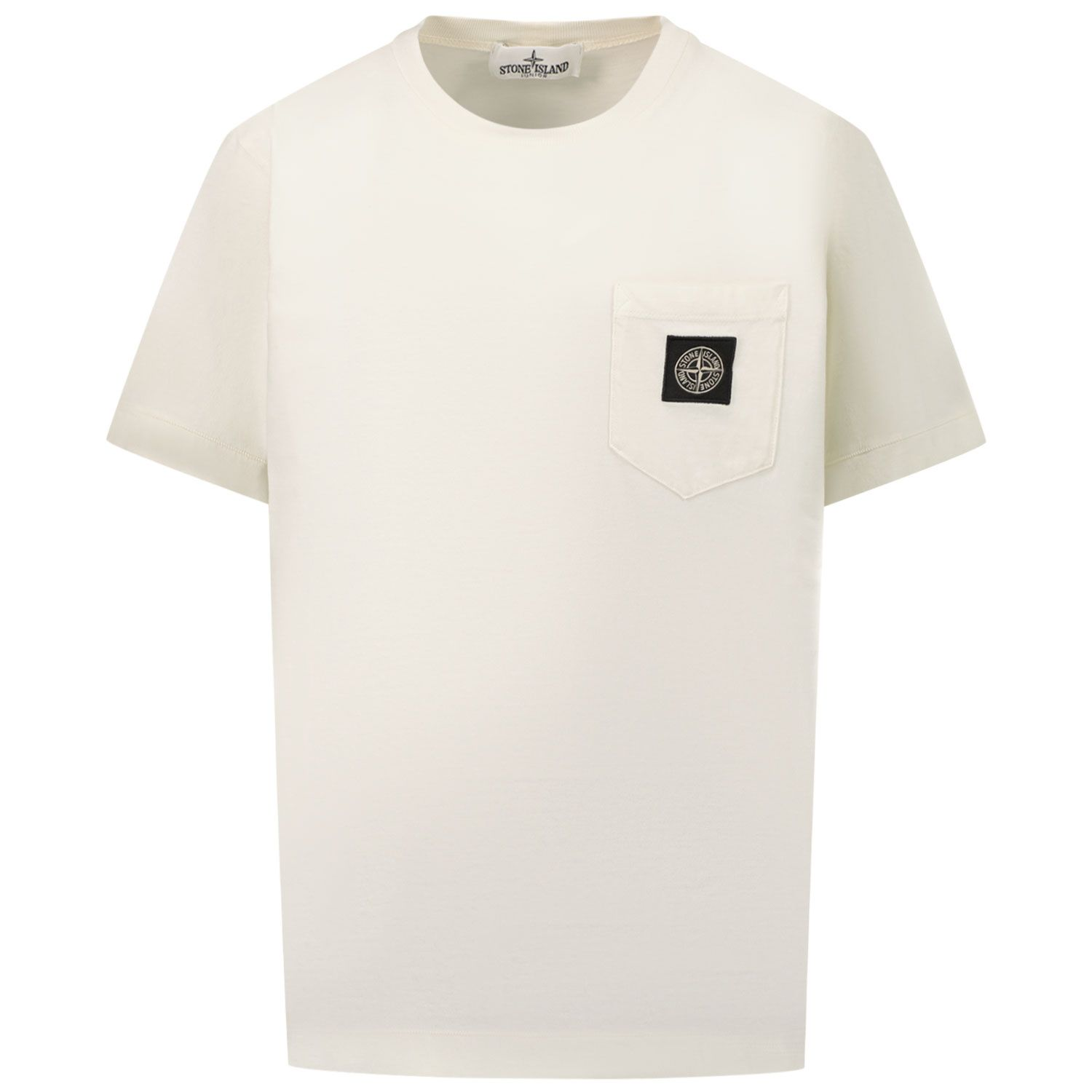 Afbeelding van Stone Island 20347 kinder t-shirt off white