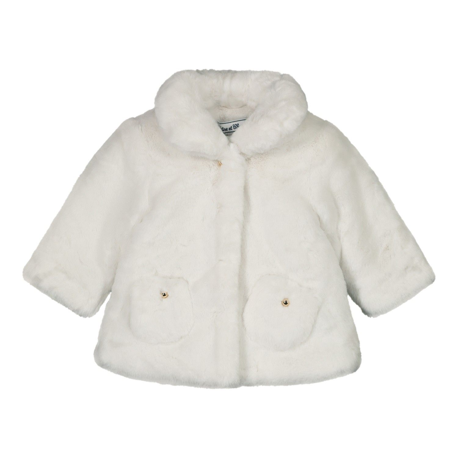 Picture of Tartine et Chocolat TR44031 baby coat off white