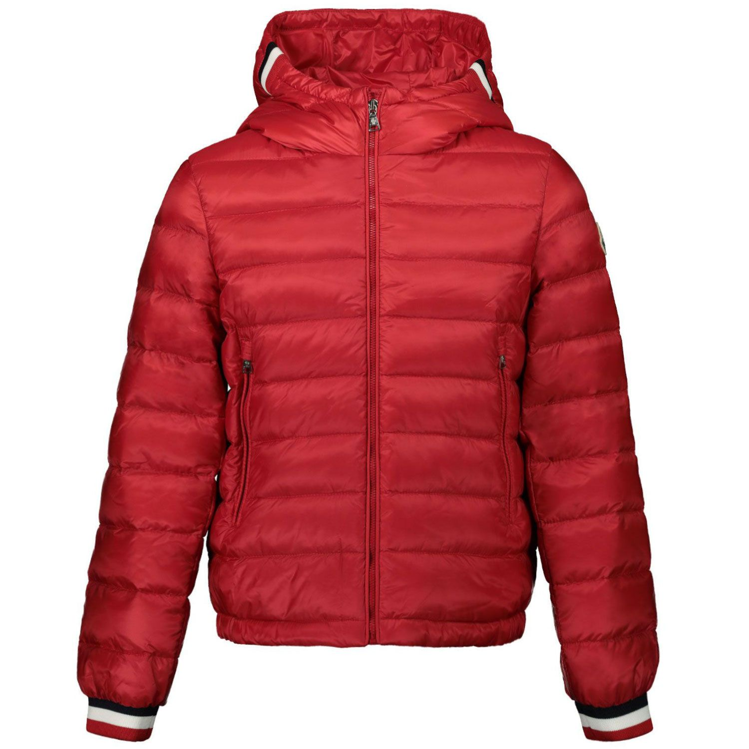 Picture of Moncler 1A11220 kids jacket red