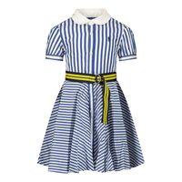 Picture of Ralph Lauren 310833014 baby dress blue