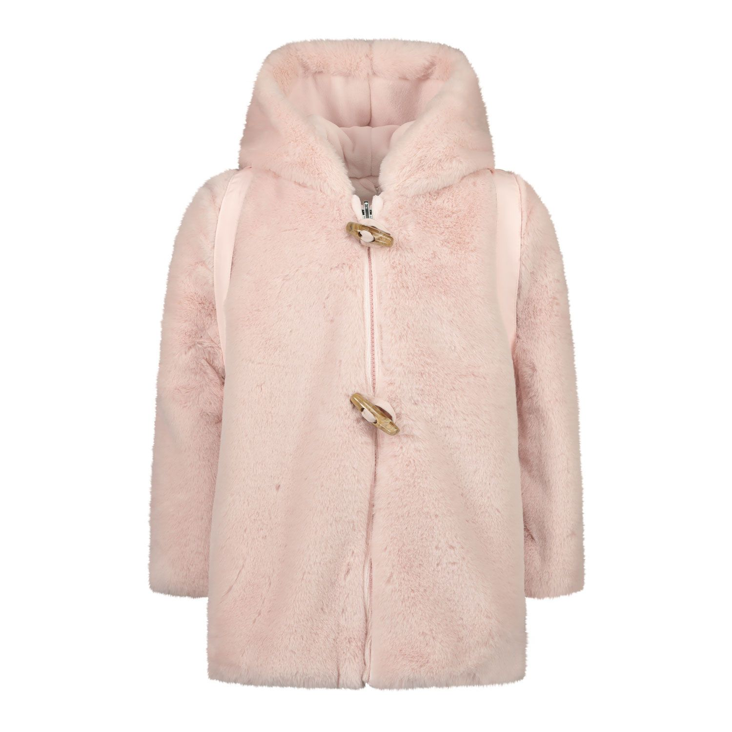 Picture of Lapin 202E1213 baby coat light pink