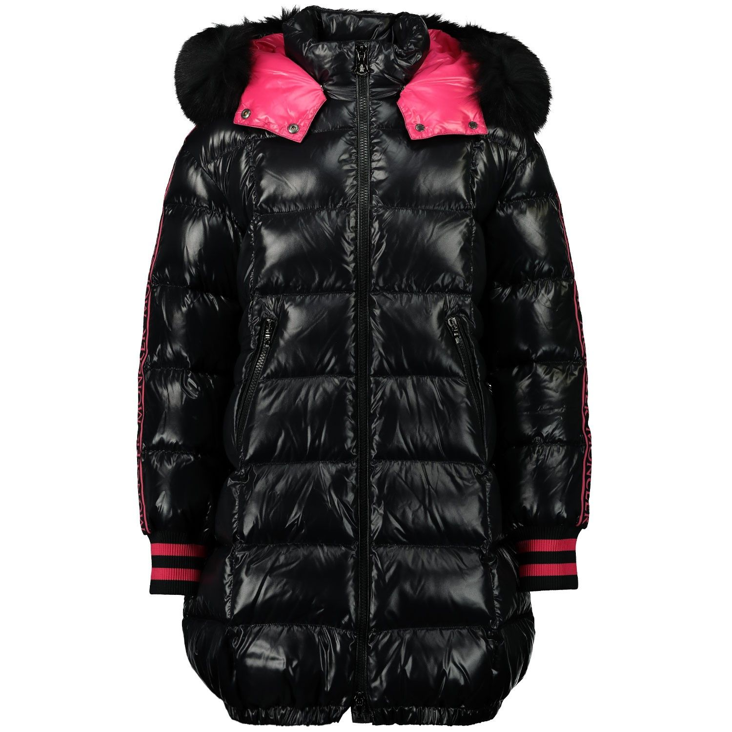 Picture of Moncler 1C50412 kids jacket black