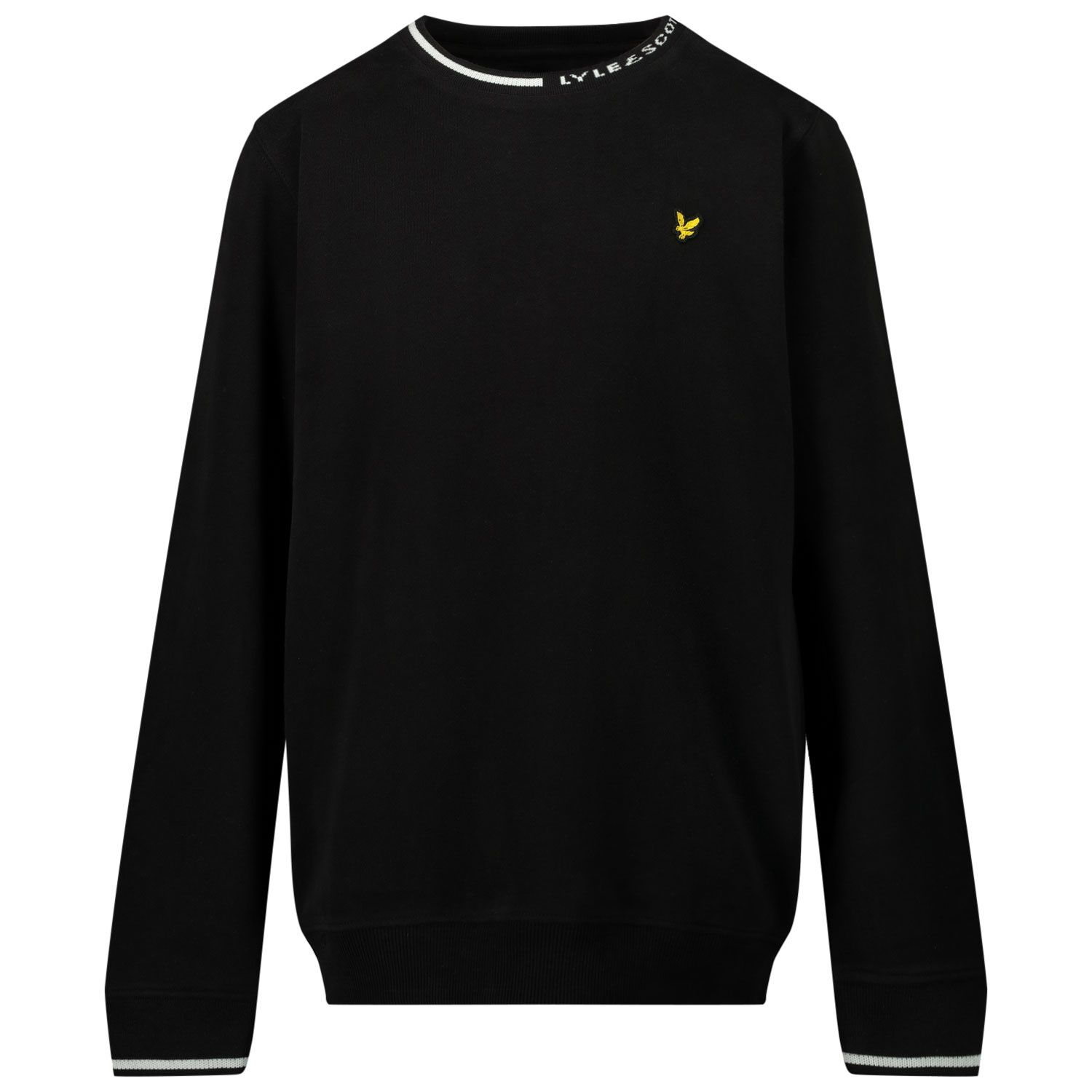 Picture of Lyle & Scott LSC0852 kids sweater black