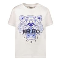 Picture of Kenzo K05121 baby shirt white