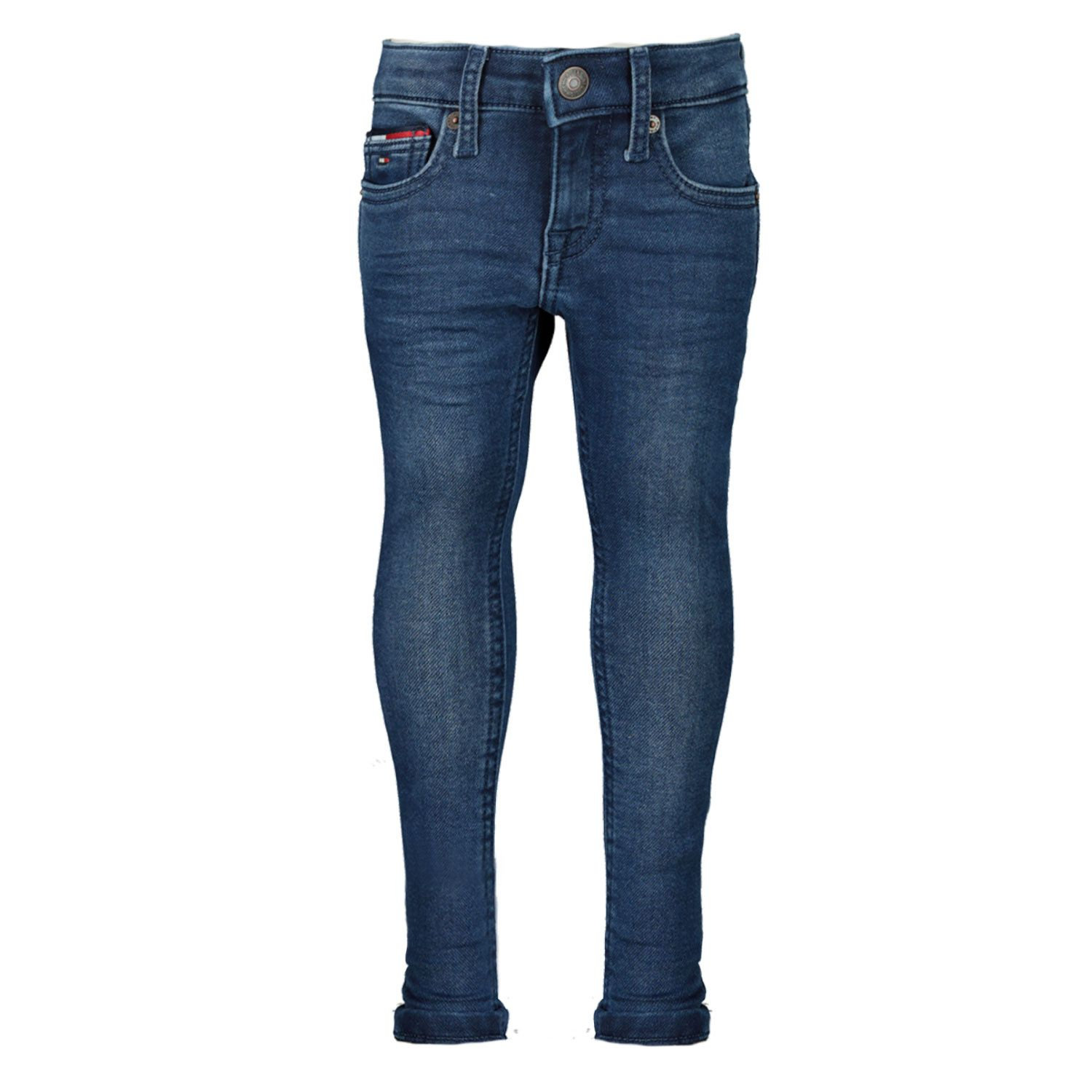 Picture of Tommy Hilfiger KG0KG05409B baby pants jeans