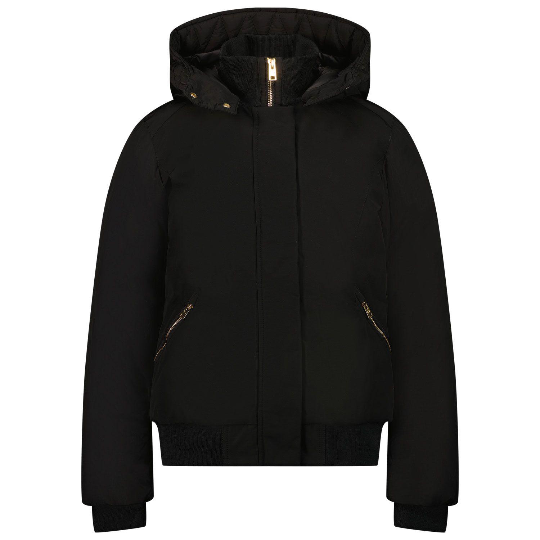 Picture of Woolrich WKOU0226 kids jacket black