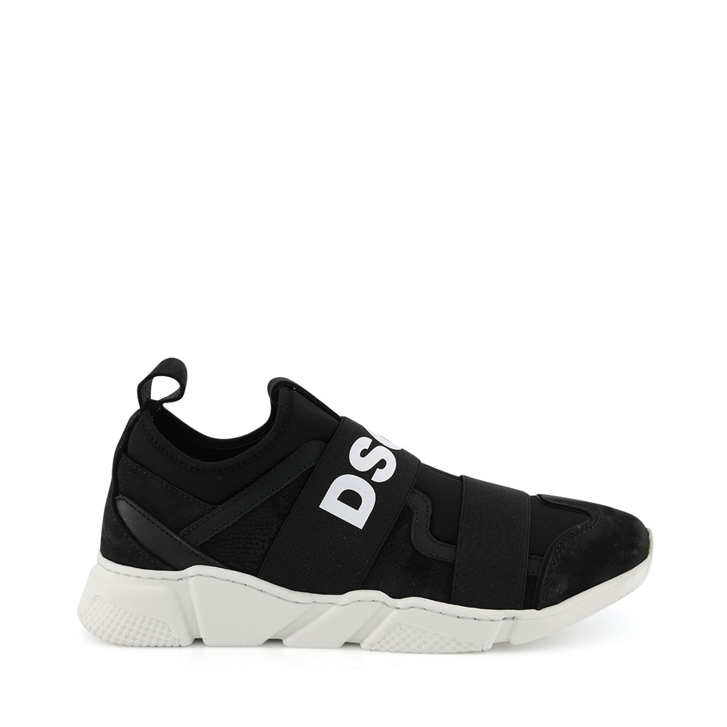 Picture of Dsquared2 63521 kids sneakers black