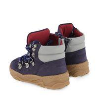 Picture of Armani XMZ002 XOU03 kids sneakers navy