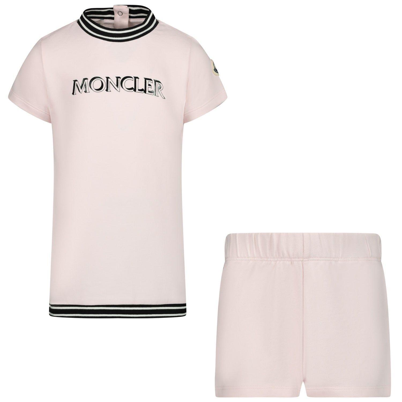 Bild von Moncler 8M71110 Babykleid Hellrosa