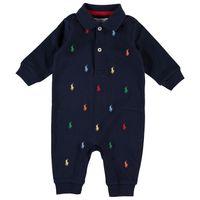 Picture of Ralph Lauren 570117 baby playsuit navy
