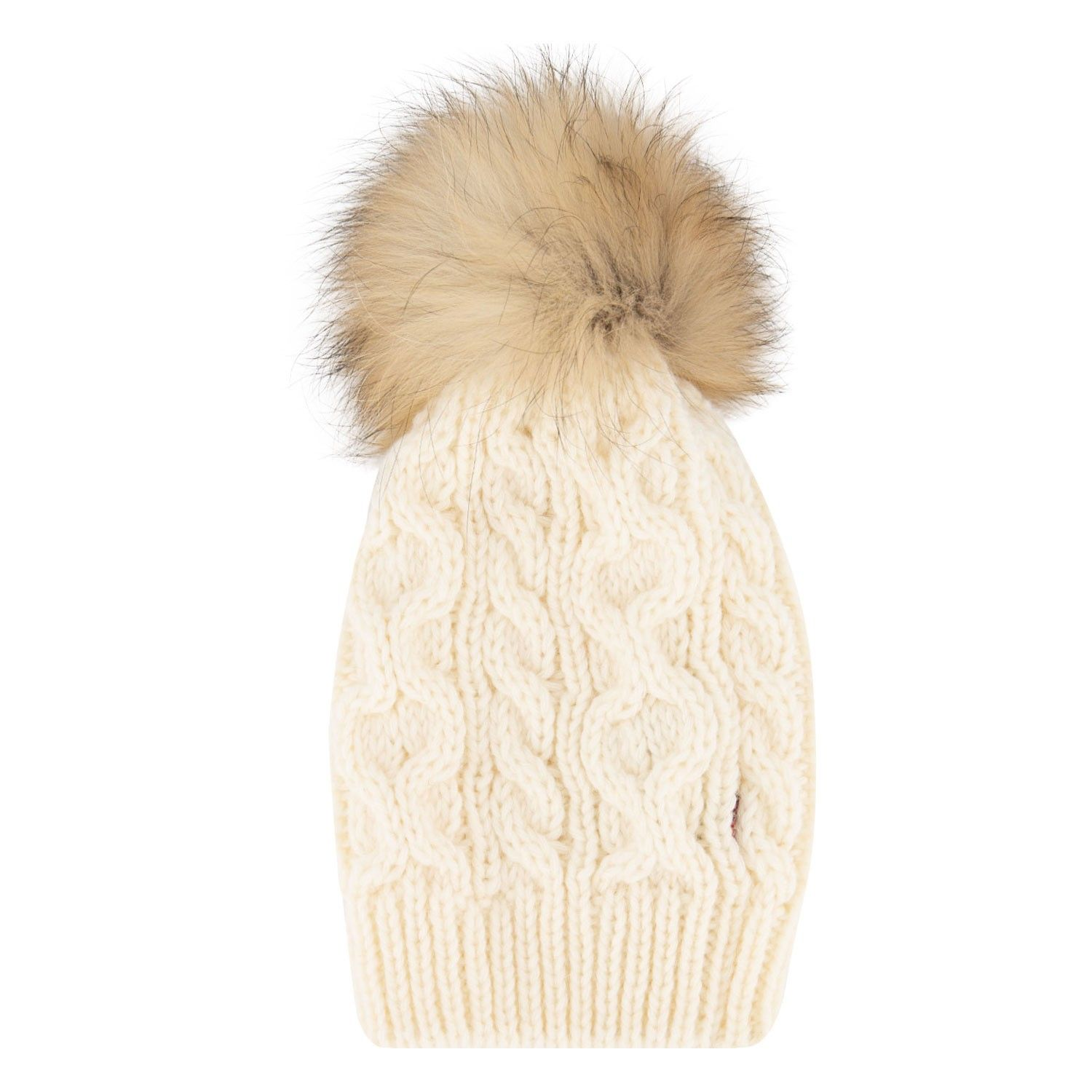 Picture of Woolrich WKACC1196 kids hat off white