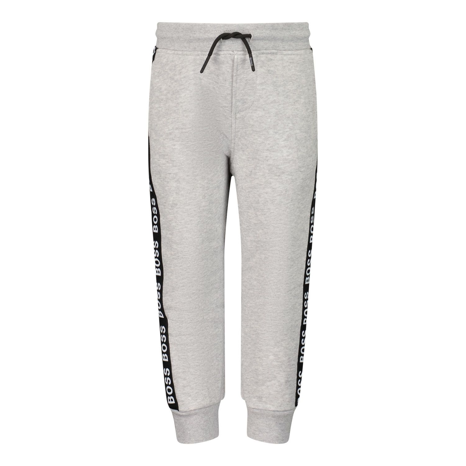Picture of Boss J04413 baby pants grey