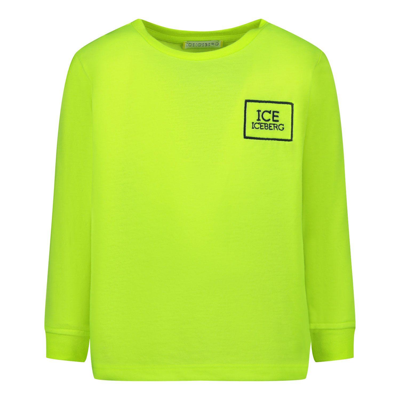 Bild von Iceberg TSICE0300B Baby-T-Shirt Neongelb