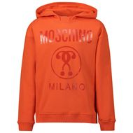 Afbeelding van Moschino HUF03J kindertrui oranje