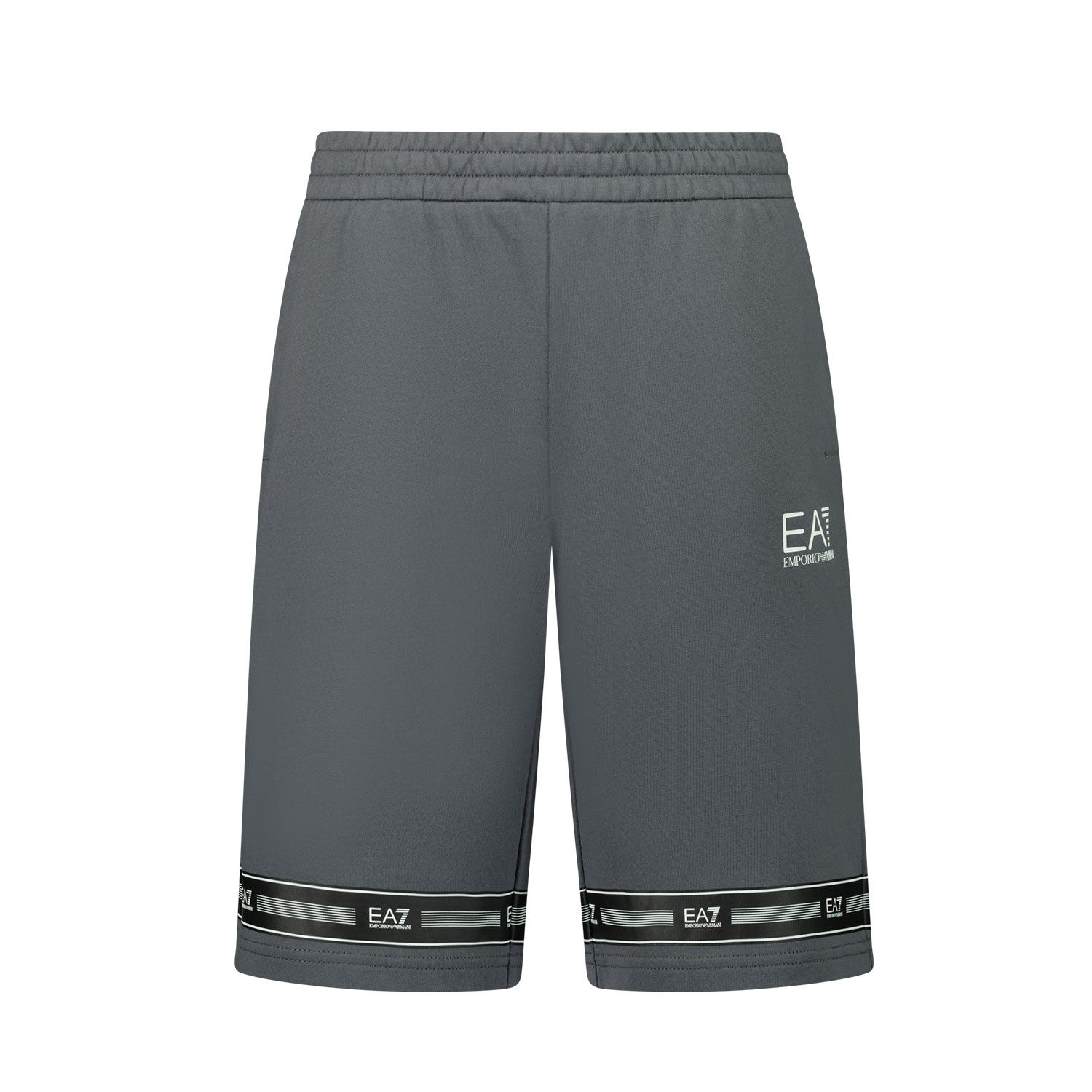 Picture of EA7 3KBS56 kids shorts dark gray