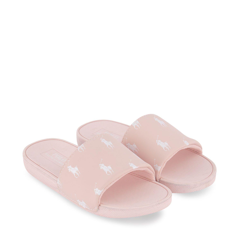Picture of Ralph Lauren RF103033 kids flipflops light pink