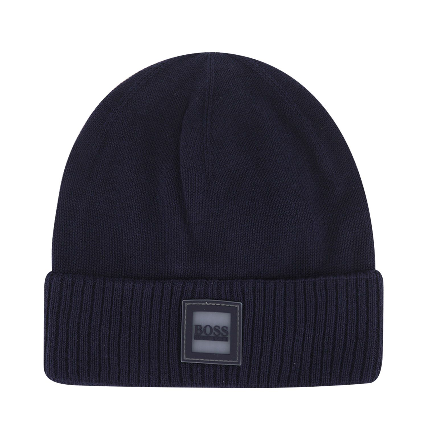 Picture of Boss J01120 baby hat navy